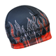 Red Flannel Flame Gas Cap Beanie