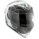 White/Gunmetal Absolute Horizon Helmet