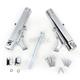 Chrome Dual Disc Fork Leg Kit for Radial Mount Calipers - 0208-2098-CH