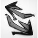 Black Radiator Shrouds - 2043640001