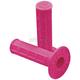 Neon Pink Half Waffle Grips - 02-4040