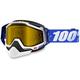 Blue Racecraft Snow Cobalt Blue Goggle w/Dual Yellow Lens - 50103-002-02