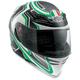 Green Racer Horizon Helmet