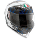 White/Blue Absolute Horizon Helmet