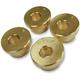 Brass 5° Angle Handlebar Riser Adaptors - LA-7400-01