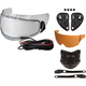Electric Sheild Snow Kit for Revolver Evo Helmets - 2035873