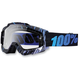 Blue Weld Accuri Motocross Goggles w/Clear Lens - 50200-031-02