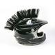 Black Helmet Mohawk - HM104
