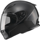 Black FF49 Snowmobile Helmet