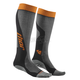 Gray/Orange MX Cool Socks