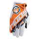 Orange/White SX1 Gloves