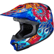 Red/Blue/Yellow CL-X7 Zilla MC-2 Helmet