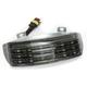 Low Profile Tri-Bar Dual Intensity LED Fender Tip w/Smoke Lens - RIV-TRI-3-SMOKE