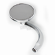 Chrome Left Round Mirror - RWD-50106