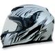 Silver Multi FX120 Helmet