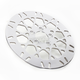 Rear 11.5 in. Mesh Polished Stainless Steel Brake Rotor - 17102026