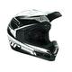 Youth Black Quadrant Stripe Helmet