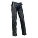 Womens Black Carbine Leather Chaps