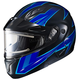Blue/Black CL-Max 2 Ridge Helmet w/Electric Shield
