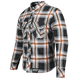 Black/Orange Rust and Redemption Armored Moto Shirt