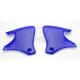 YZ Blue Radiator Shrouds - 2043830211