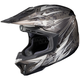 Black/Gray/White MC-5 CL-X7 Pop 'N Lock Helmet