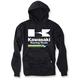Black Kawasaki Racing Pullover Hoody