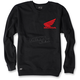Black Honda Crew Sweatshirt