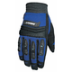 Velocity Black/Blue Gloves