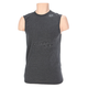 Heather Black Strength Sleeveless T-Shirt
