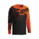 Black/Flo Orange Core Hux Jersey