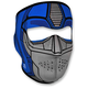 Blue/Silver Neoprene Guardian Full Face Mask - WNFM086