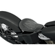 9 1/2 in. Wide Spring Solo Seat w/Flames - 0806-0037