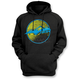 Black Sunset Pullover Hoody