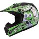 Youth Black/Green GM46.2 Superstar Helmet