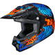 Youth  Blue/Black/Orange CL-XY 2 Eye Fly MC-2 Helmet