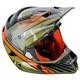 Shattered Green ECE Certified F4 Helmet