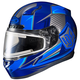 Blue/Black CL-17SN MC-2 Striker Helmet w/Frameless Electric Shield