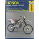 Honda Dirtbike Repair Manual - 2219