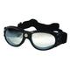 Black G-905 Goggles w/Clear Mirror Lens - G-905BK/CLM