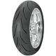 Rear 3D Ultra Extreme 190/55ZR-17 Blackwall Tire - 90000001352