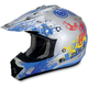 Youth Blue Stunt FX-17 Helmet