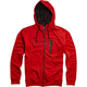 Flame Red Transport Zip Hoody