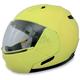 Hi-Vis Yellow FX-140 Modular Helmet