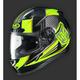 Youth Hi-Viz Yellow/Black  CL-Y MC-3H  Striker Helmet