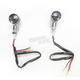 Round #3 Dual Filament Marker Lights w/Smoke Lens - 25-8601