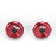 Red Aluminum End Plugs - F71APR