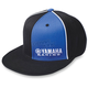 Black/Blue Yamaha Racing Flex-Fit Hat