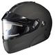 Matte Black IS-MAX BTSN Helmet w/Electric Shield