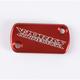 Anodized Billet Aluminum Front Brake Reservoir Cover - 21-005
